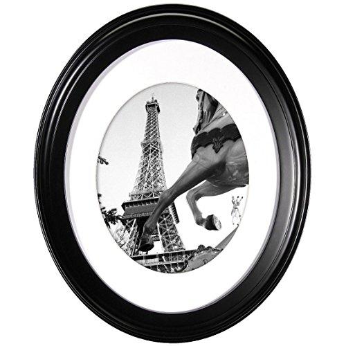 Oval Wall Frame - Black