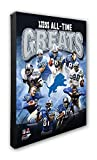 """NFL Detroit Lions 'All Time Greats' Beautiful Gallery Quality, High Resolution Canvas, 16"""" x 20"""""""