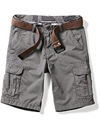 Men's Lightweight Multi Pocket Casual Cargo Shorts