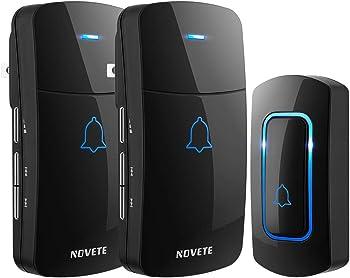 Novete 52 Chime Door Wireless Bell Kit