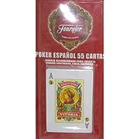 Fournier - Baraja Poker español, 55 Cartas en