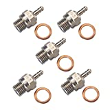 Hobbypower Spark Glow Plug No.3 N3 Hot 70117 for RC Nitro Engines Car Truck Traxxas(pack of 5 pcs)