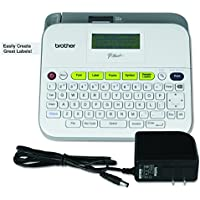 Brother P-touch QWERTY Keyboard Label Maker (White)