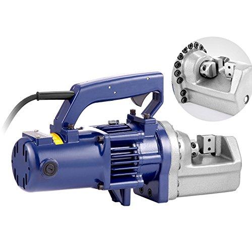 Mophorn Hydraulic Rebar Cutter 7/8Inch 22MM Portable Hydraulic Electric Rebar 110 Volt 1350W Electric Rebar Cutter 3.5-4.5 Seconds Cutting Speed (22mm)