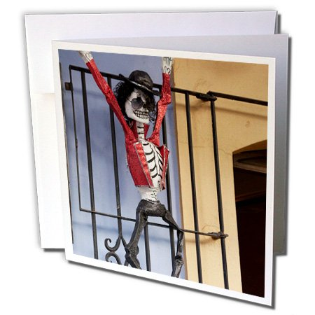 Mexico, Michael Jackson, Day of the Dead - Greeting Card, 6 x 6 inches, single (gc_86708_5)