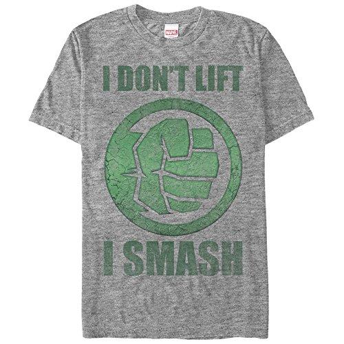 Marvel Hulk Smash Mens Graphic T (Hulk Smash Shirt)