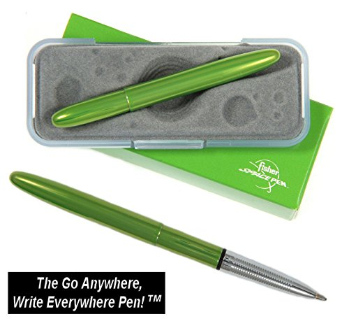 Fisher Space Pen #400LG / Lime Green Lacquered Bullet Space Pen