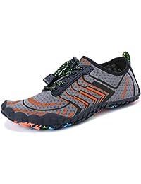 e18aa4c8e9a9 Summer Water Shoes Men Women Quick Drying Swim Surf Beach Pool Shoes Wide  Toe Hiking Aqua