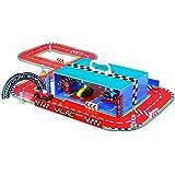 Vilac 2334 - Circuito de carreras de madera en maletín