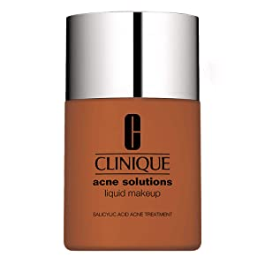 New Item CLINIQUE ACNE SOLUTION ACNE SOLUTIONS FOUNDATION 1.0 OZ CLINIQUE/ACNE SOLUTIONS LIQUID MAKEKUP 08 FRESH AMBER 1.0 OZ DRY COMBINATION/OILY SALICYLIC ACID ACNE TREATMENT