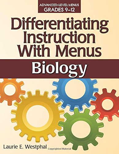 Workbook differentiated instruction worksheets : Amazon.com: Differentiating Instruction with Menus: Biology ...
