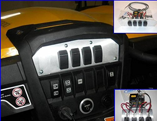 2014 Can-Am Maverick ''Command Center'' with Fuse Block and Illuminated Switches 11040 by Extreme Metal Products (Image #4)
