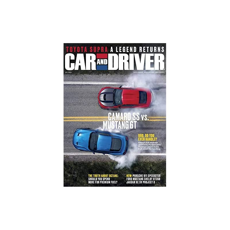 Car and Driver                                                                                    Print Magazine