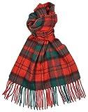 Lambswool Scottish Clan Scarf Dunbar Modern Tartan