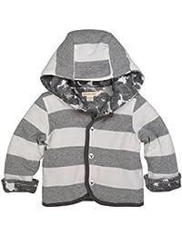 Baby Organic Snap Front Reversible Jacket