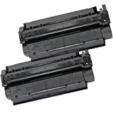 2 Inkfirst® Toner Cartridges C7115A (15A) Compatible Remanufactured for HP C7115A Black LaserJet 1000 1200 1200n 1200se 1220 1220se 3300 3310 3310 MFP 3320 3320 MFP 3320n 3320n MFP 3330 3330 MFP 3380