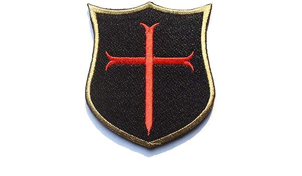 ANNIUP Parche de Parche Bordado Militar, Insignia del ejército Cruzada, Escudo de Cruzado, Sello Azul Marino, DEVGRU Tactical Badge Forest Patch: Amazon.es: Hogar