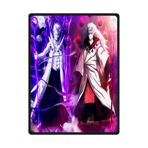 scottshop personalizado alta calidad manta 58 x 80), diseño de Naruto Anime mantas mantas