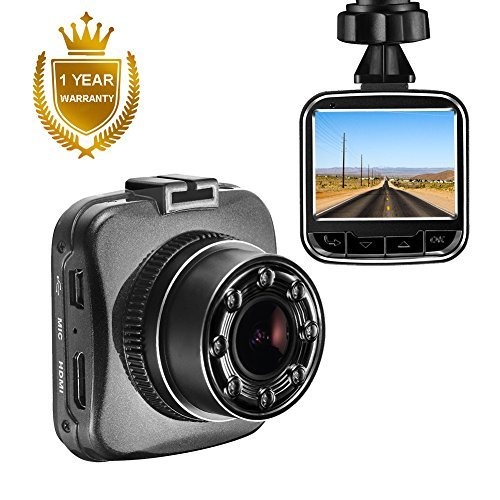 "Senwow Mini Dash Cam 2"" LCD 1080P Full HD Car Dashboard Camera Recorder Sony Sensor 170° Wide Angle On Dash Video Driving DVR G-Sensor, Loop Recording, Night Vision Parking Monitor Motion Detection"