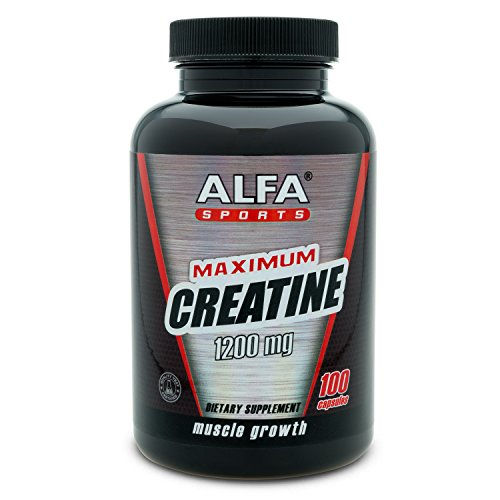 Maximum Creatine Monohydrate 1200 Mg 100 Capsules. Muscle Mass. Post Workout Recovery. Reduces Effects of Lactic Acid