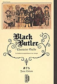 Black Butler character guide, tome 1 par Yana Toboso