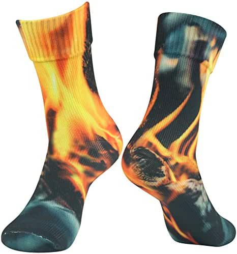[SGS Certified] RANDY SUN Unisex Waterproof & Breathable Hiking/Trekking/Ski Socks