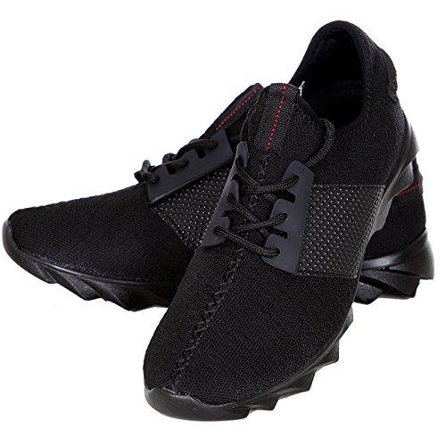 Sneaker Schnürer 1035 Design Schuhe Schwarz Herren Sport Profilsohle T Lauf area2buy Schuhe dOqSFwtd