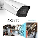 Amcrest 4K Optical Zoom IP Camera, Varifocal 8MP