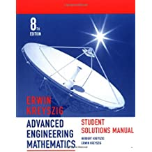 Advanced Engineering Mathematics: Student Solution Manual