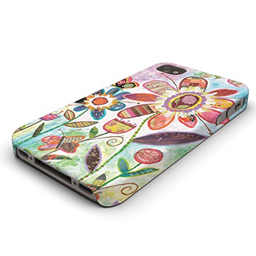 Koveru Back Cover Case for Apple iPhone 4/4S - Wild Garden