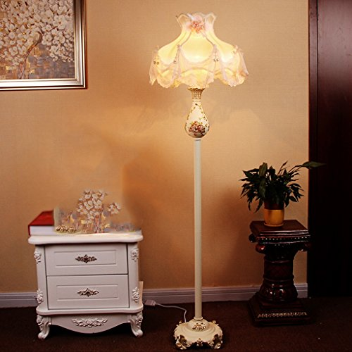 Edge To Continental Minimalist Living Room Floor Lamp Bedroom Study Creative Fashion Luxury Garden Warm Resin Floor Lamp by Edge To (Image #1)