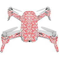 Skin For Yuneec Breeze 4K Drone – Coral Damask | MightySkins Protective, Durable, and Unique Vinyl Decal wrap cover | Easy To Apply, Remove, and Change Styles | Made in the USA