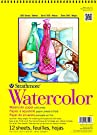 "Strathmore 360-9 300 Series Watercolor Pad, Cold Press, 9""x12"" Wire Bound, 12 Sheets"