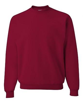 da2c40f0c6cb Jerzees Men s Pill Resistant Long Sleeve Crewneck Sweatshirt at ...