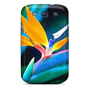 Team ProMall AKZPY5504BENUT Protective Case For Galaxy S3(bird Of Paradise)