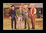 8 x 10 All Wood Framed Photo Westerns-Bonanza TV