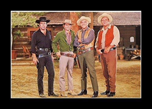8 x 10 All Wood Framed Photo Westerns-Bonanza TV by Celebrity Framed Art (Image #2)