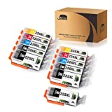 JARBO Compatible Ink Cartridge Replacement for Canon PGI-225XL CLI-226XL 11 Packs(3 PGBK 2 Black 2 Cyan 2 Magenta 2 Yellow) Used in PIXMA MX892 MX882 MG5220 IP4820 IX6520 MG5320 MG6220 MG8220