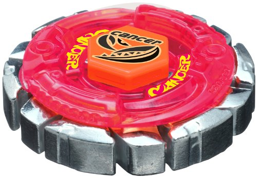 Takara Tomy Beyblade BB-55 Booster Dark Cancer CH120SF (Cancer Dark Beyblade)