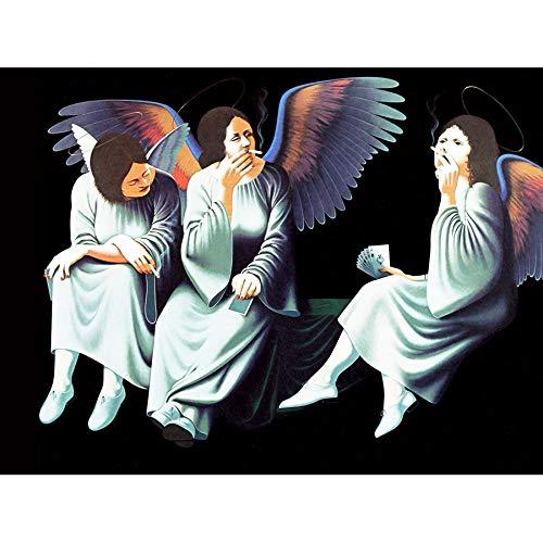 Doppelganger33LTD MUSIC ALBUM COVER BLACK SABBATH HEAVEN HELL ANGELS 18X24'' POSTER ART PRINT LV10208 ()