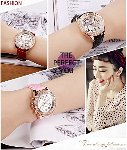 Generic Korean_style_of women girls watch es_ retro _trend_ fashion _waterproof_jacket_with_diamond,_ fashion watch women girls watch