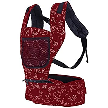 Asdomo ergonomique Porte-bébé Sac à dos avec Hip Seat, toutes les saisons  pour ee7fa0e5b39