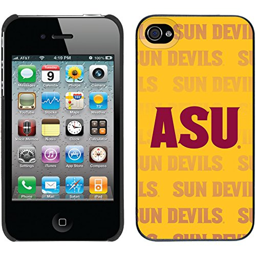 【超歓迎された】 Coveroo Thinshield Arizona design Case for iPhone 4/ 4s – 4s Arizona State Pitchforkマスコット 401-7527-BK-FBC Arizona State - Repeating design B00N17G0QC, ブックセンター多可:a7ece808 --- movellplanejado.com.br