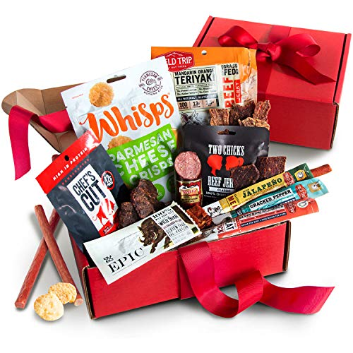 Father's Day Jerky & Meat Snack Gift Box
