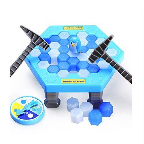 Xiton クラッシュアイスゲーム ペンギントラップ おもちゃ家族や友達と一緒に楽しむゲーム パーティ プレゼント 盛り上がる 耐久性強いの商品画像