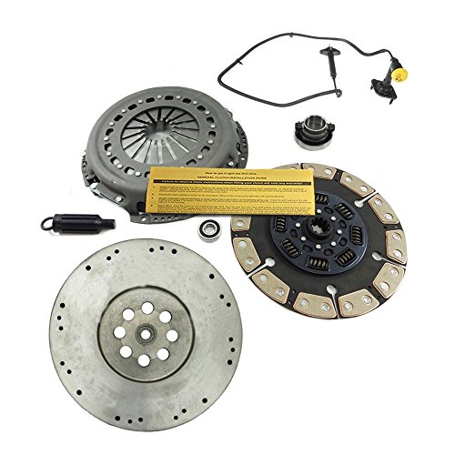 CERAMIC CLUTCH KIT& FLYWHEEL& MASTER& SLAVE for DODGE RAM 5.9L 6.7L CUMMINS 6SPD