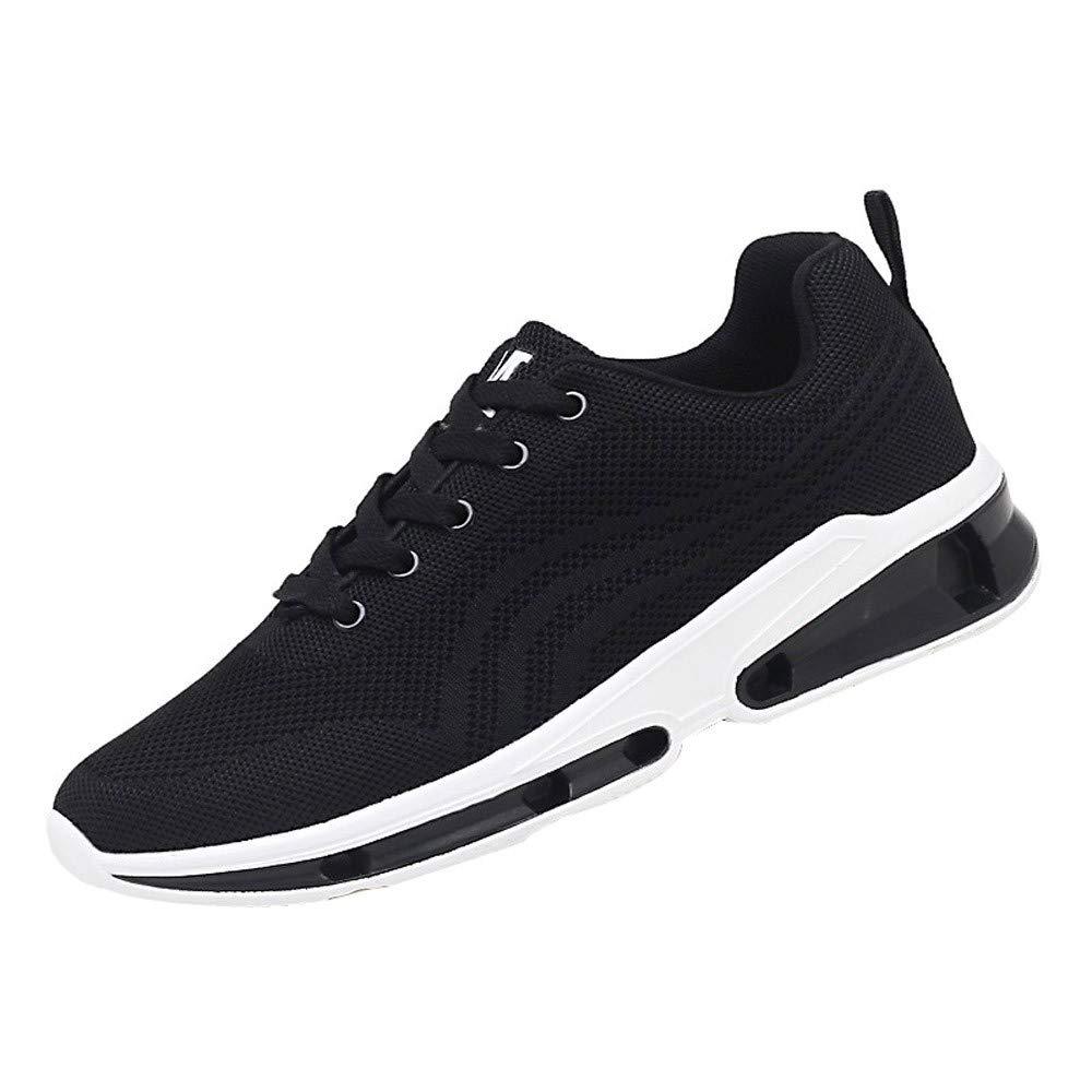 Logobeing Zapatillas Running Hombre Aire Libre y Deporte Sneakers Zapatillas de Malla Zapatos para Correr para Estudiantes