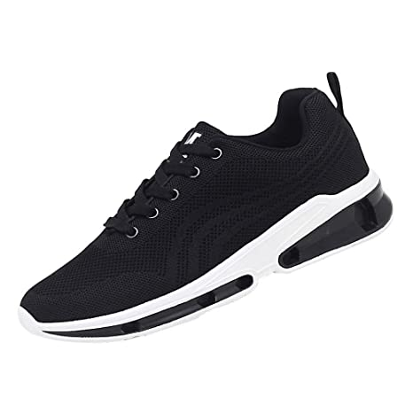 Unisex Mesh Shoes Lace-Up Flying Woven Casual Shoes Men Shoes Breathable Shoes Student Running