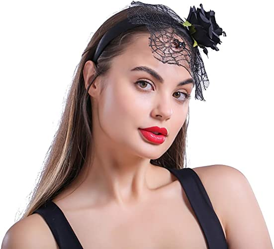 Spider Style Headdress For Ladies Halloween Women Costume Accessory