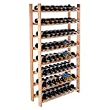 New 120 Bottle Wood Wine Rack 8 Tier Review and Comparison